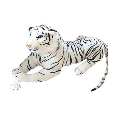 Diligencer Soft Fluffy Kawaii Cute Tiger Stuffed Plush Doll para Baby Boy Girls Birthday Party Gift Toy Pillow: Juguetes y juegos