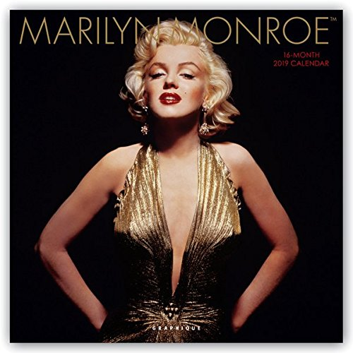 (Graphique Marilyn Monroe Wall Calendar - 16-Month 2019 Calendar, 12