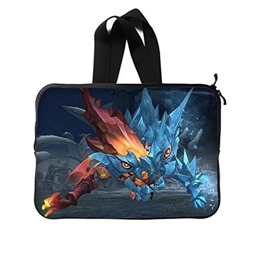 JIUDUIDODO Custom Best Gifts Cool Dragon 3D print Neoprene Laptop Sleeve 11