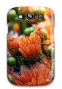 New Fashion Premium Tpu Case Cover For Galaxy S3 - Cute Daisies Flowers