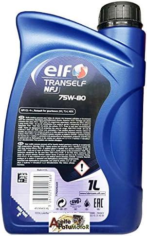 Elf - Aceite Trans nfj 75w80 1 litro: Amazon.es: Coche y moto