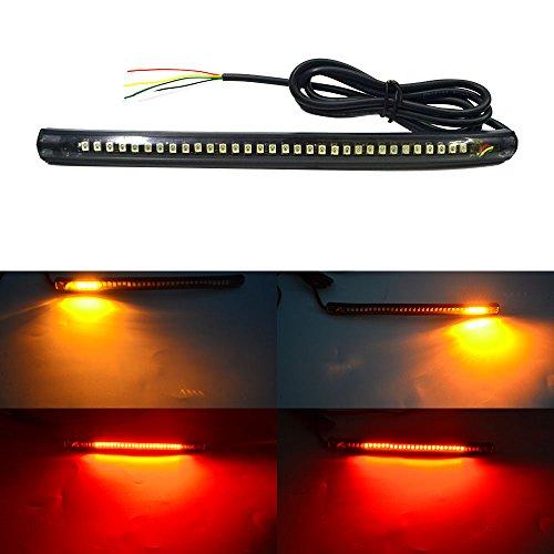 NBWDY Universal led Light Strip Tail Brake Stop Turn Signal 32LED 8
