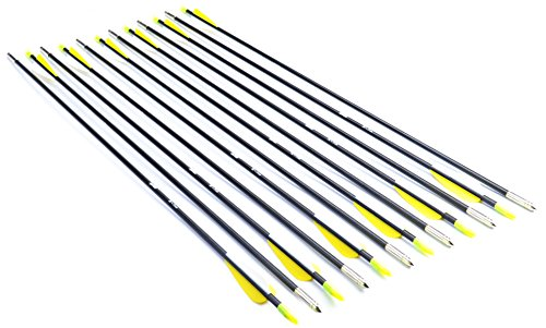 antsir-28-inch-fiberglass-archery-target-arrowspractice-arrows-for-childrenwoman-or-beginnerwith-adj