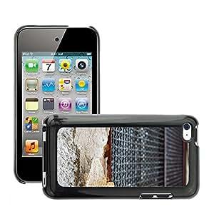 Print Motif Coque de protection Case Cover // M00158812 Hogar de la pared antigua fachada // Apple ipod Touch 4 4G 4th