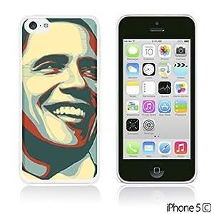 OnlineBestDigital - Art Paintings Hardback Case for Apple iPhone 5C - American President Barack Obama
