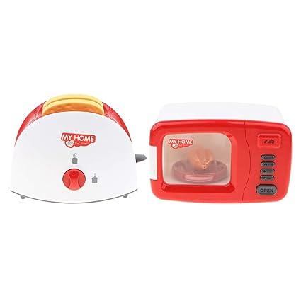 Amazon.com: Flameer - Juego de 2 juguetes surtidos de cocina ...