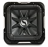 Kicker S15L7 Car Audio Solobaric L7 Square 15'' Sub Dual 2 Ohm 2000W 11S15L72 Subwoofer L7S15