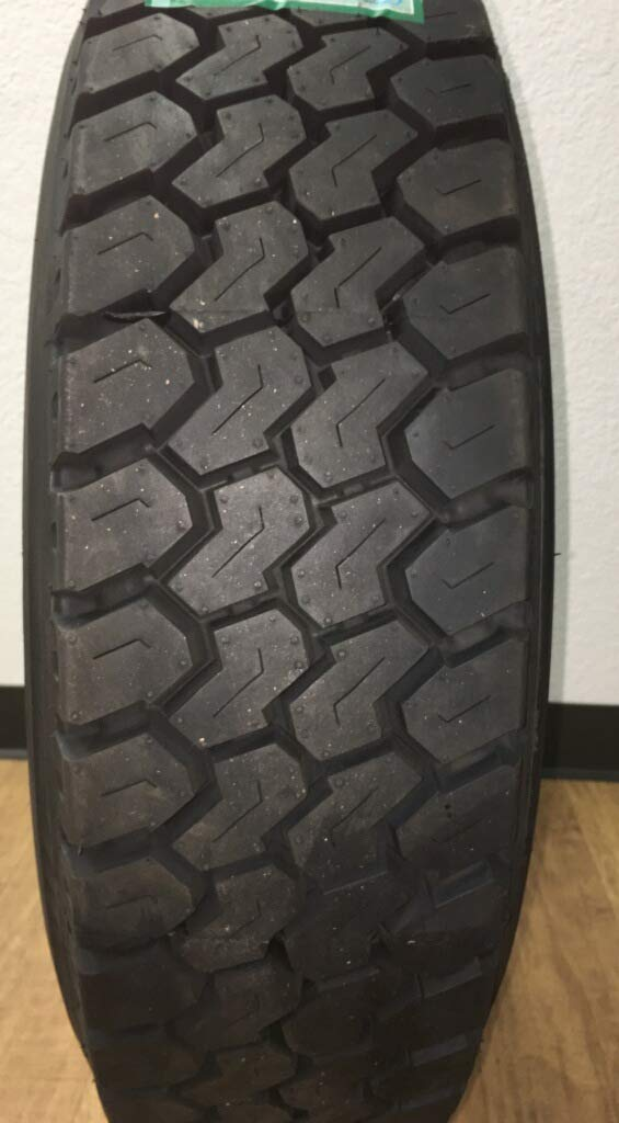 (1-TIRE) 225/70R19.5 ROAD WARRIOR # LM509 STEER ALL POSITIONS TIRES 14 PLY HEAVY DUTY 22570195