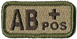 ab positive patch - Tactical Blood Type Patches -