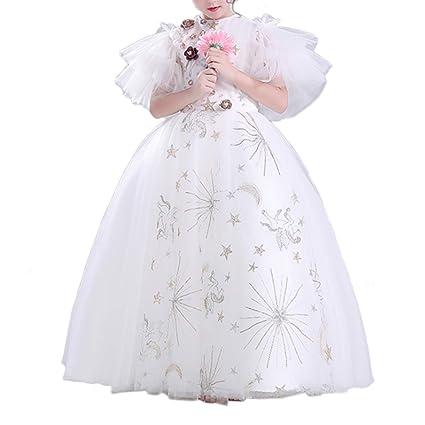 Amazon.com: Vestido de bola para niña, vestido de fiesta de ...