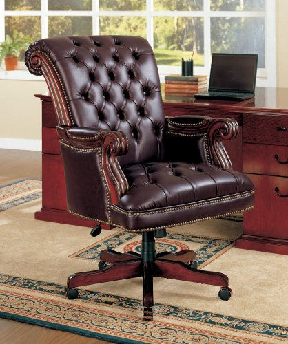Coaster Traditional Executive Office Tufted product image