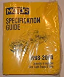 Motor 1993-2004 Specification Guide for Domestic & Imported Cars, Light trucks & Vans