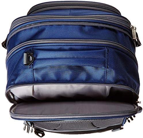 AmazonBasics Carry-On Travel Backpack - Navy Blue