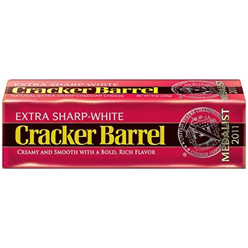 Sharp White Cheddar - Cracker Barrel, Extra Sharp, White Cheddar, 8 oz
