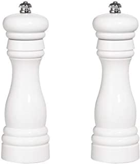 product image for Fletchers' Mill Federal Salt & Pepper Mill, White - 6 Inch, Adjustable Coarseness Fine to Coarse, MADE IN U.S.A.