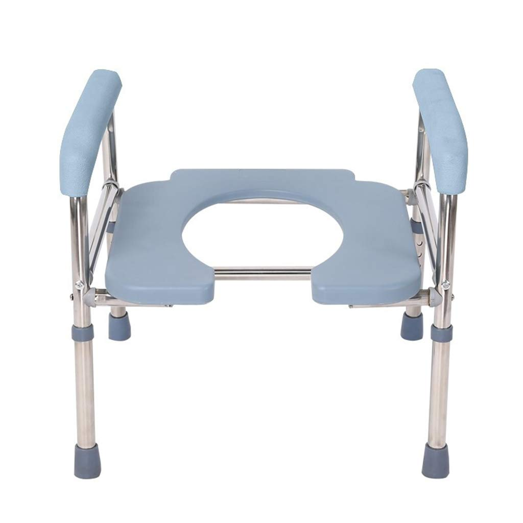 ZXXX Homecare Commode Chair,Bariatric Commode,Portable Commode, Raised Toilet Seat,Toilet Chair for Adults Seniors by ZXXX