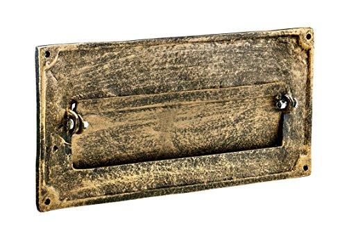 AdirHome Bronze Steel Fabulous Italian Through-Door Mail Slot by AdirHome (Image #1)