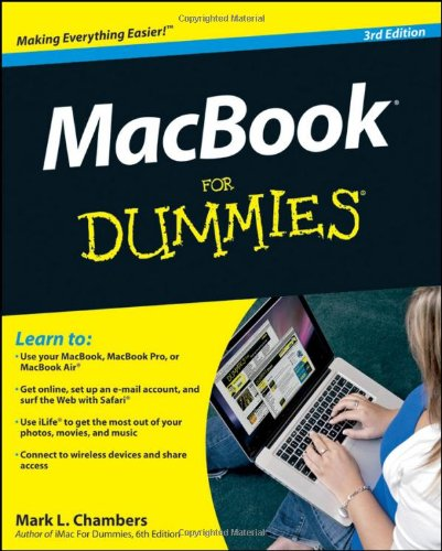 [PDF] MacBook For Dummies, 3rd Edition Free Download   Publisher : For Dummies   Category : Computers & Internet   ISBN 10 : 0470769181   ISBN 13 : 9780470769188