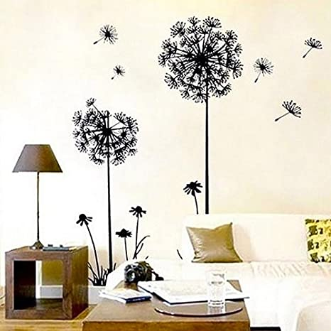 Gemini/_mall/® Beautiful Girls Eye Pink Butterfly Decor Living Room Sofa TV Background Wall Stickers