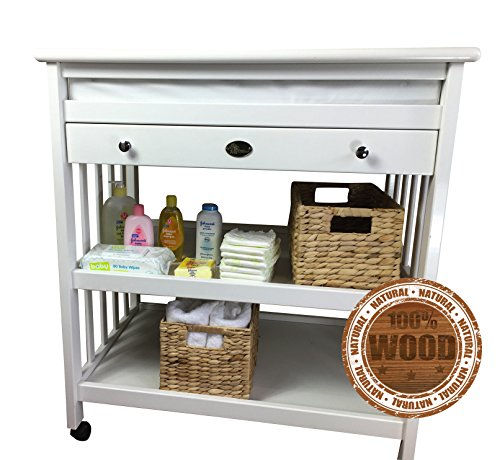 baby-changing-table-plus-baby-changing-pad-white