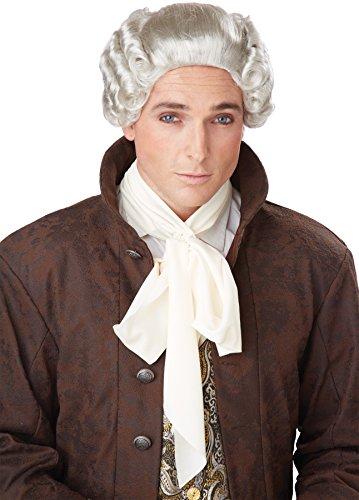 18th Century Peruke Wig Costume (Eighteenth Century Halloween Costumes)