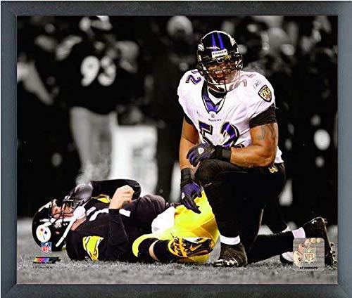 Ray Lewis Baltimore Ravens Spotlight Action Photo (Size: 17