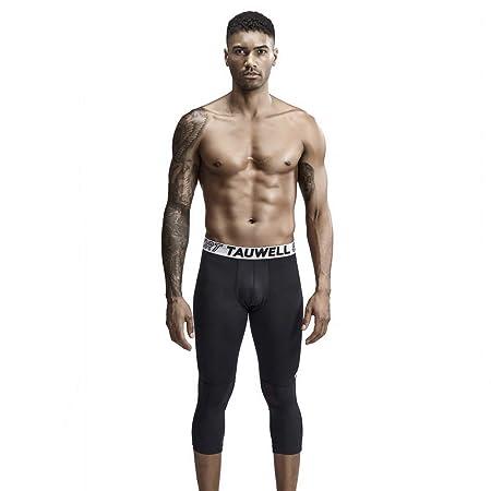 LDDOTR Pantalones de compresión para Hombre, Mallas ...