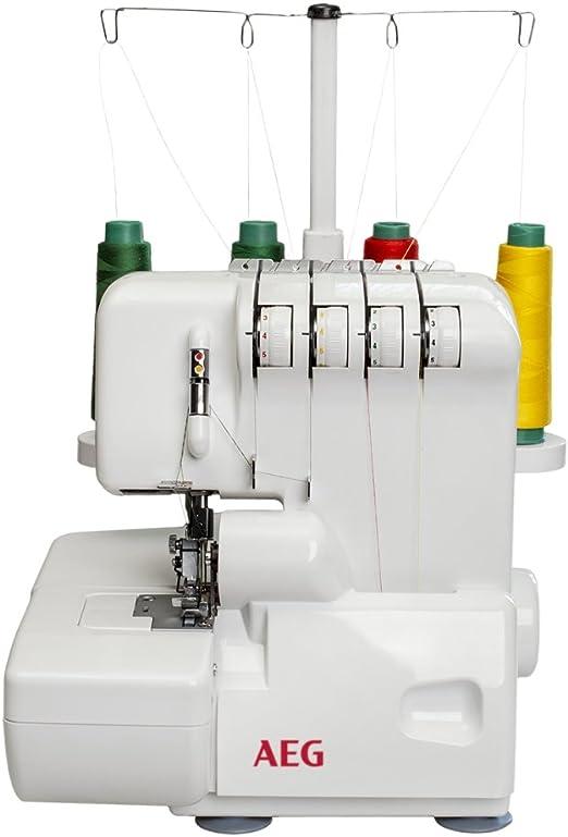 AEG 90S - Máquina de coser (Máquina de coser automática, Blanco ...