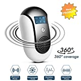 Ultrasonic Pest Repeller, Electronic Pest Repeller Plug-in Pest Control Electromagnetic Insect Repellent for Cockroach, Mice, Rodents, Spiders, Flies, Moquitos, Ants, Fleas,Never bother pet and baby Review