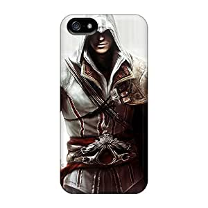 Apple Iphone 5/5s AKe6214Hmsu Provide Private Custom Lifelike Assassins Creed Iii Pattern Protective Hard Phone Cover -LeoSwiech
