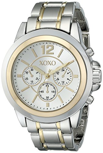 XOXO Womens XO5586 Two-Tone Bracelet Watch
