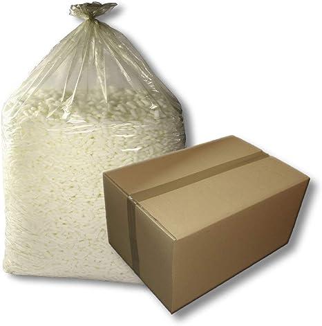 Sacos de plástico para desechar, 1 caja de cartón=20 unidades, dimensiones 1250 + 850 x 2400 mm, 2500 litros de capacidad, 80 my/tipo 100, con pliegue lateral: Amazon.es: Hogar