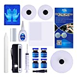 Fly5D DIY Windshield Glass Repair Kit Auto Car Windscreen Wind Glass Kit For Chip Crack (A)