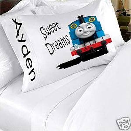 Thomas The Train Pillowcase Impressive Thomas The Train And Friends Personalized Pillowcase Kids Childs