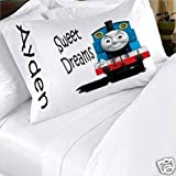 Thomas The Train And Friends Personalized Pillowcase Kids Childs Toddler Boy Girl Pillow Case Bedding Bedroom Decor (2)