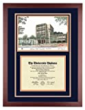 CAL STATE FULLERTON Diploma Frame with Artwork in Standard Mahogany Frame