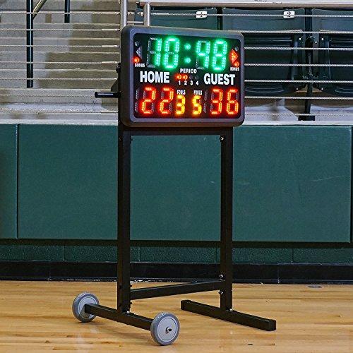 MacGregor SportLine Tabletop Scoreboard Wheeled Stand