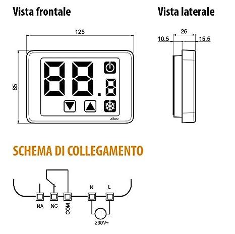 Vemer Spa ve477600/hygrostat