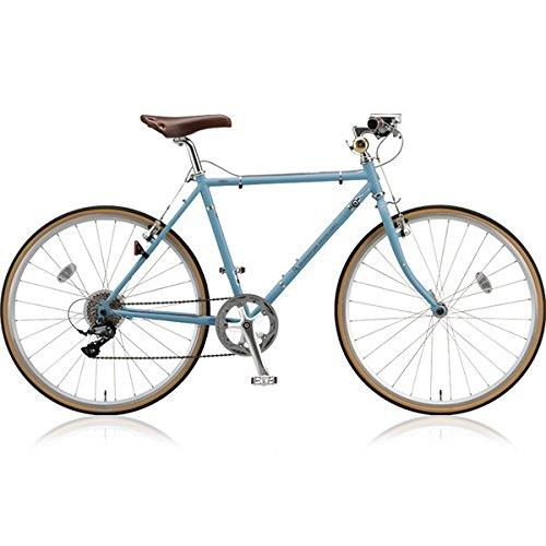 ブリヂストン(BRIDGESTONE) クロスバイク クエロ(CHERO) 650F CHF648 E.XHブルーグレー 480mm B076K8CWJ6