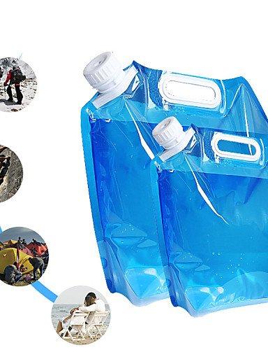 ZQ 5l im Freien faltbare zusammenklappbare Trinkwasserbeutel Auto Wasserbehälter für den Außenlager wandern Picknick Grill