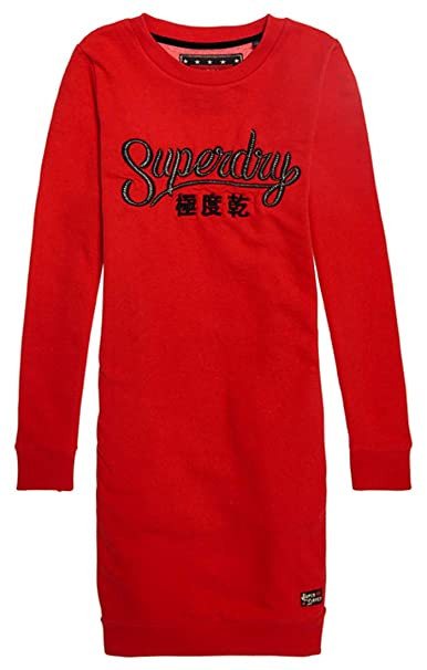 4956d0f10177 Superdry Women's Star Sweat Dress: Amazon.co.uk: Clothing