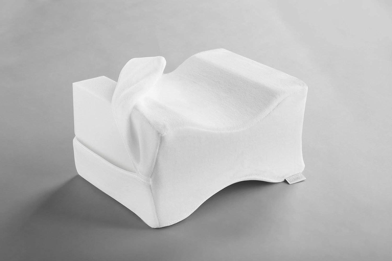 26 x 20 x 16 cm blanc respirant Coussin de genoux Dormisette Q895 pour dormir sur le c/ôt/é