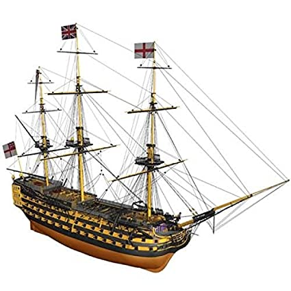 Amazon.com: Billing Boats 1:75 Scale H.M.S Victory Model ...