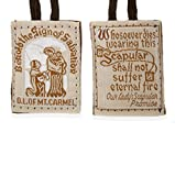 Vatican Approved Best Brown Mt. Carmel Scapular 100% Wool & Hand- Made in USA