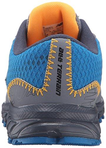 New Balance KT690V1 Youth Trail Running Shoe (Little Kid/Big Kid) Blue/Orange