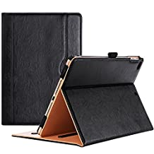 ProCase iPad 9.7 Case 2018 / 2017 iPad Case - Stand Folio Cover Case for Apple iPad 9.7 inch, Also Fit iPad Air 2 / iPad Air -Black