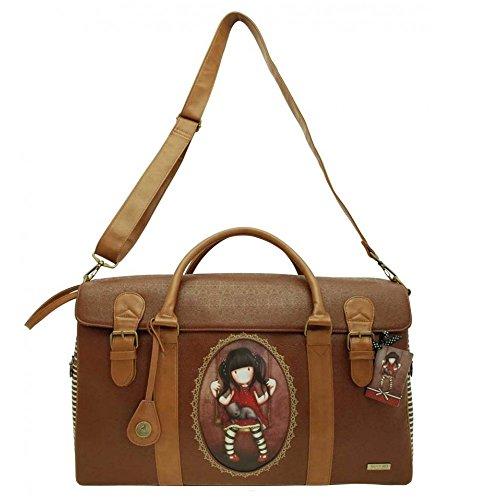 Gorjuss Ruby Weekender Bag - Embossed Rococo