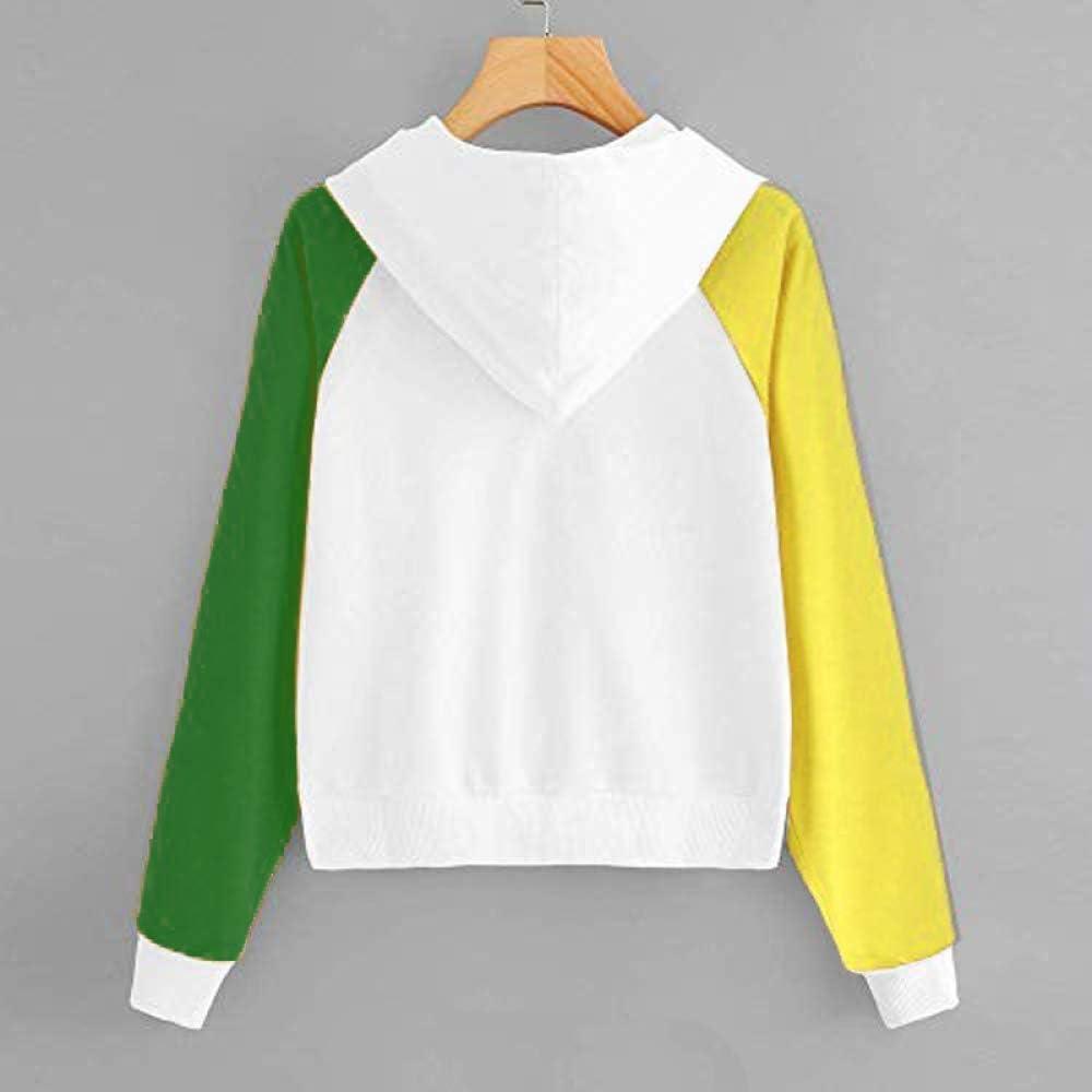 EIJFKNC Sweatshirt Streetwear Frauen O-Neck Body Art Aquarell Hoodie für Frauen Fashion Streetwear Frauen C993-Y