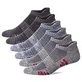u&i Men's Performance Cushion Cotton Low Cut Ankle