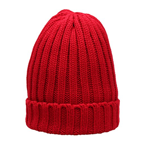 Unisex Winter Thick Knitted Beanie product image